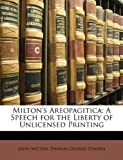 Image of Milton's Areopagitica: A Speech for the Liberty of Unlicensed Printing