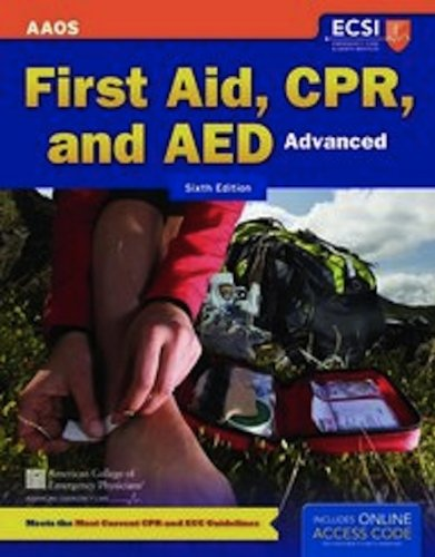 First Aid, CPR and AED Advanced, by American Academy of Orthopaedic Surgeons (AAOS), American College of Emergency Physicians (ACEP), Alto