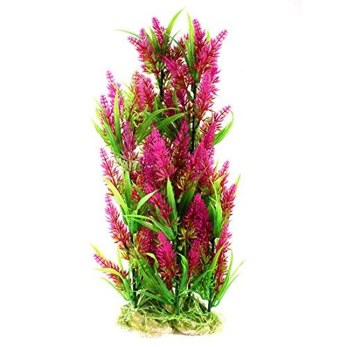 Uxcell aquarium fish tank decoration artificial water for Artificial pond plants sale