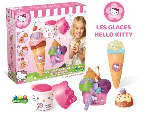 Hello Kitty Ice Cream Party Dough Playset