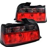 Bmw E36 3-Series 4Dr Euro Red Smoke Tail Lights