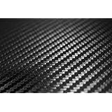 TCBunny 3D Carbon Fiber Vinyl Film Wrap Black 12
