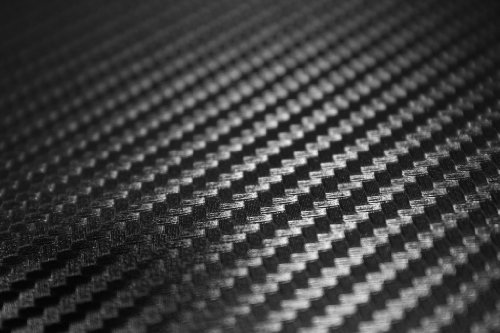 "TCBunny 3D Carbon Fiber Vinyl Film Wrap Black 12"" x 60"" Sheet"