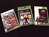 Forza Motorsport 3, Viva Pinata Trouble in Paradise, Mass Effect XBOX 360