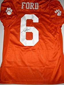 JACOBY FORD AUTOGRAPHED CLEMSON JERSEY by The+Sports+Mix