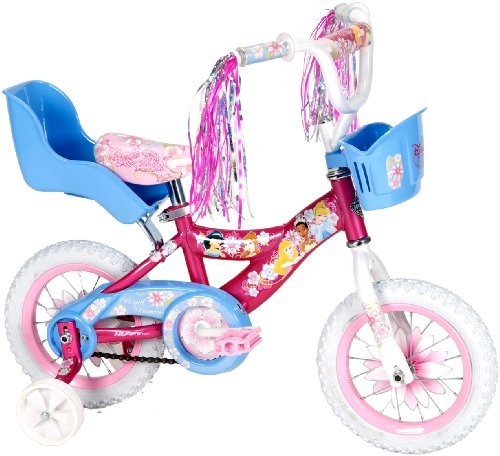 Huffy 12 Inch Girls Princess Bike Pink Bicycles For