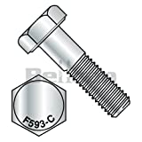 Bellcan BC-1408CH188S Hex Cap Screw 18/8 Stainless Steel 1/4-20 X 1/2 (Box of 100)