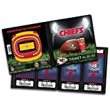 NFL Kansas City Chiefs Ticket Album at Amazon.com