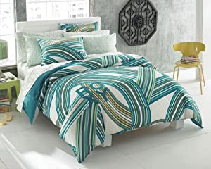 Roxy Cami Twin Duvet Cover Sham Set
