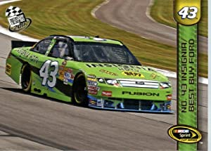 Buy 2011-NASCAR Press Pass Racing Card # 56 AJ Allmendinger NSCS Cars In Protective Screwdown Case by Press Pass