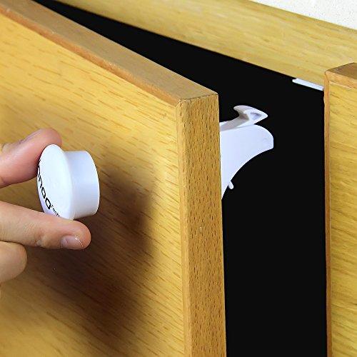 Innoo Tech Baby Safety Locks Magnetic Safety Cabinet Locks
