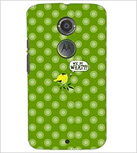 PrintDhaba Cartoon D-5005 Back Case Cover for MOTOROLA MOTO X2 (Multi-Coloured)