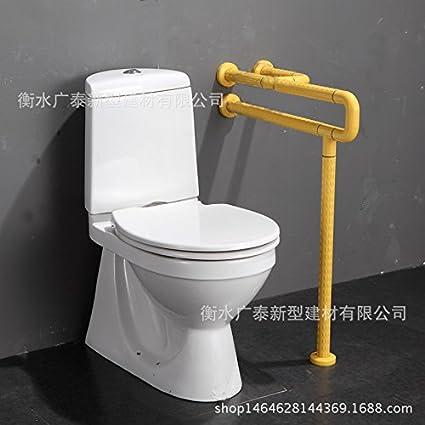 ZQ@QXNo hay ningún obstáculo para las personas de edad discapacitados Baño reposabrazos