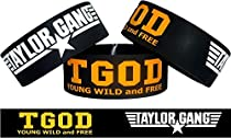 Taylor Gang TGOD One Inch Wristband