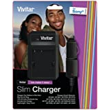 VIVITAR VIV-SC-SON Li-Ion Battery Charger (For Sony(R) Cameras)