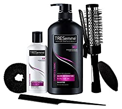 TRESemme Free Hair Styling Kit Worth Rs.500 with Smooth and Shine Shampoo, 580ml and Conditioner, 85ml