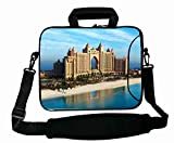 Cool Print Custom ( Landscapes dubai hotel sea ) Laptop Bag For Boy's Gift (15