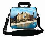 Cool Print Custom ( Landscapes dubai hotel sea ) Laptop Bag For Boy's Gift (15
