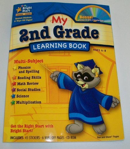 My 2nd Grade Learning Book with Bonus CD - 1