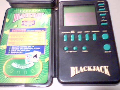 1994 Micro Games of America Las Vegas Casino Corner Blackjack Battery Operated Interactive Lcd Elecronic Blackjack Handheld Game (1994 Version) - 1