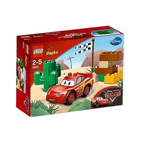 Lego - 5813 - Jeux de construction - lego duplo cars - Flash McQueen