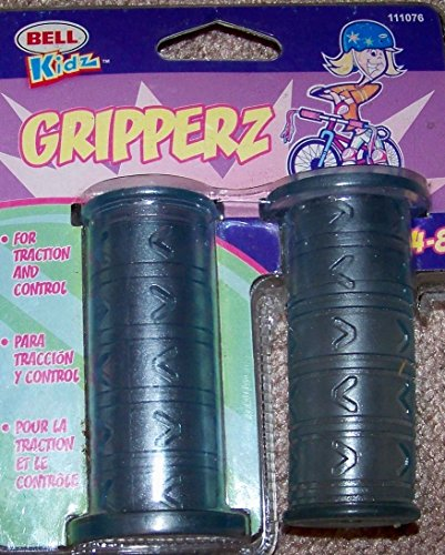 Bell Kidz Gripperz Bicycle Grips Clear Blue Ages 4-8 Cat No 111076 - 1