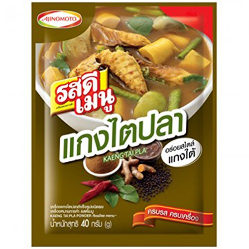 Ros Dee Kaeng Tai Pla Soup Curry Powder 40 G (Thermos Soup Container With Spoon compare prices)