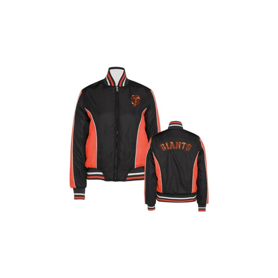 San Francisco Giants Womens Full Zip Reversible Polyester Jacket