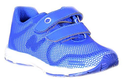 Naturino - Naturino Scarpe Sportive Bambino Azzurre Pelle Tela Sport 487 - Azzurro, 29