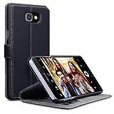 Samsung Galaxy A9 Cover, Terrapin Leder Tasche Case Hülle