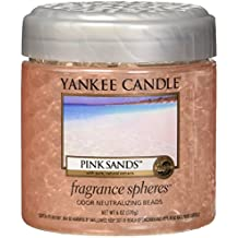Yankee Candle Company Pink Sands Fragrance Spheres Odor Neutralizing Beads, Fresh Scent By Yankee Candle