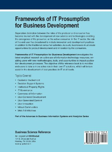 Frameworks of It Prosumption for Business Development (Advances in Business Information Systems and Analytics)
