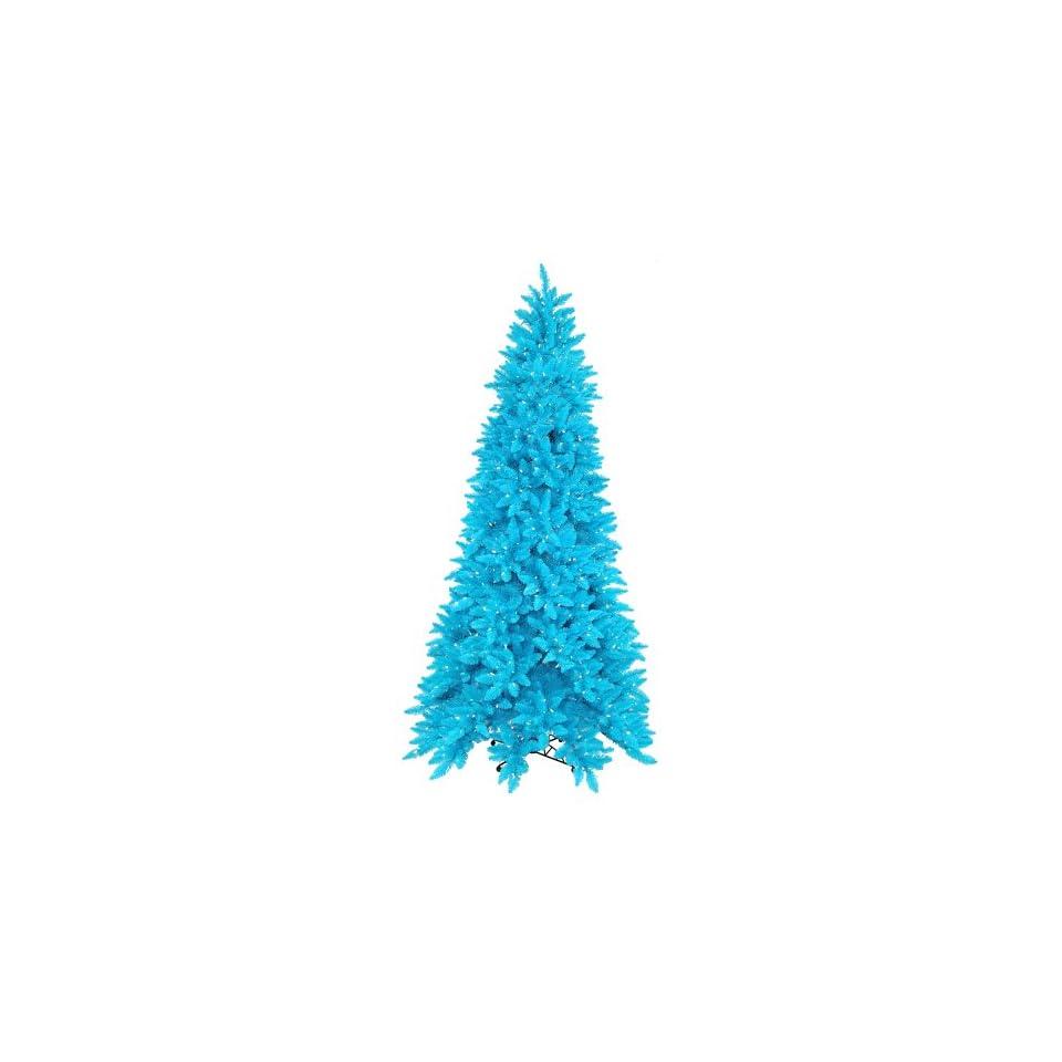 10 x 62 Sky Blue Ashley Spruce Christmas Tree 1150Frost