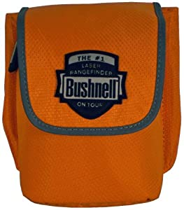 Bushnell Laser Rangefinder Case with Magnetic Closure (Orange)