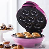 Royal 7 Portion Donut Maker Smart Electric Non Stick Surface - Make 7 Professoinal Donuts