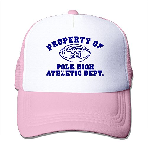 Property Of Polk High Mens Cool Mesh Hat Baseball Hats Pink (Property Brothers Season 1 compare prices)