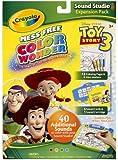 Crayola Color Wonder Sound Studio Disney Toy Story Refills