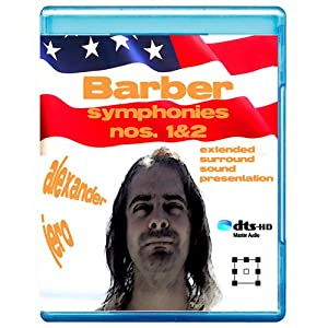 Barber: Symphonies Nos. 1 & 2 - The New Dimension of Sound Symphonic Series [7.1 DTS-HD Master Audio Disc] [BD25 Audio Only] [Blu-ray]
