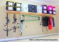 DIY Rhino Shelf Garage Shelves (16 Foot Length, 33.5″ Deep) – Commercial Grade, Structural Kits for…