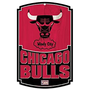 Wincraft Chicago Bulls Hardwood Classics Wood Sign by WinCraft