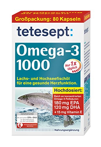 Omega-3 1000, 80 Kapseln