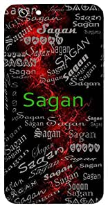 Sagan (Leader; Lord Shiva) Name & Sign Printed All over customize & Personalized!! Protective back cover for your Smart Phone : Moto G-4-PLAY