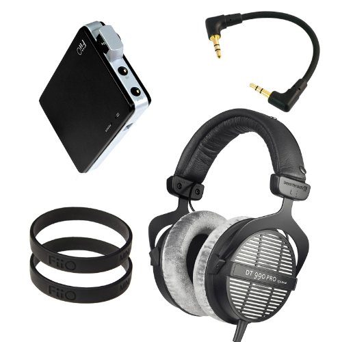 Beyerdynamic Dt-990 Pro 250 Ohm With Fiio E11 Professional Headphone Bundle