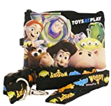 Disney TOY STORY Lanyard with Pouch Fastpass Tickets Holder -Black
