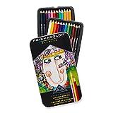 Prismacolor Premier Colored Pencils, Soft Core, 24 Pack (3597T) with Premier Pencil Sharpener (1786520)