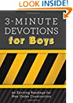3-Minute Devotions for Boys: 90 Excit...