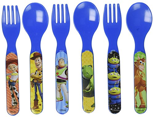 Toy Story Six Piece Fork & Spoon Set - 1