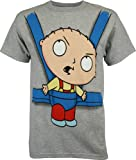 Family Guy Stewie in Baby Sling Men's T-Shirt, X-Large