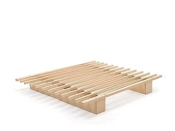 Tojo Bett | Tojo-v ausziehbares Gästebett / Stundentenbett / Singlebett |Funktionsbett mit variabler Größe | 90 bis 180 cm| Tojo Möbel mit minimalistischem / modernem Design