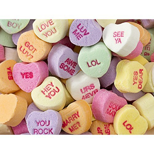 Small Sweethearts Conversation Hearts, 10LBS by Necco [並行輸入品]